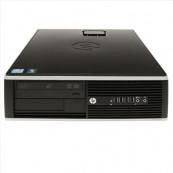 Calculator HP Elite 8000 SFF, Pentium E5500 2.80GHz, 4GB DDR2, 250GB SATA, DVD-ROM, Second Hand Calculatoare Second Hand