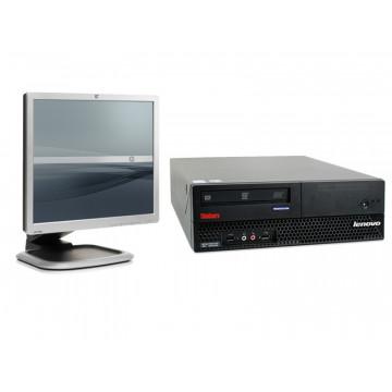 Calculator IBM M57 9482, Pentium Dual Core E2180, 1Gb, 80Gb + Monitor 19 inci LCD
