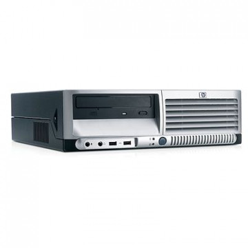 Calculator Ieftin HP DC7600 Intel Pentium 4, 2.8GHz, 512mb, 80gb, DVD-ROM Calculatoare Second Hand