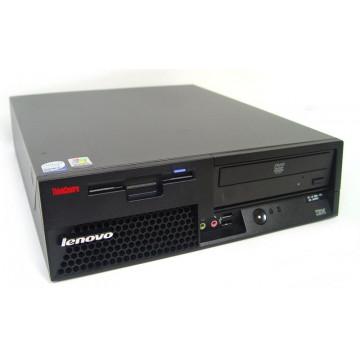 Calculator LENOVO M55 Desktop, Intel Core 2 Duo E6600 2.4 GHz, 2 GB DDR2, 160GB SATA, DVD-RW Calculatoare Second Hand