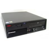 Calculator Lenovo M55, Intel Dual Core E6300 1.86GHz, 2GB DDR2, 250GB SATA, DVD-ROM Calculatoare Second Hand