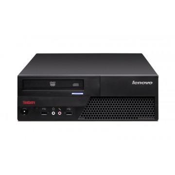 Calculator lenovo M58p, Core 2 Duo E8400,  3.0Ghz, 2Gb DDR3, 160Gb HDD, DVD-RW Calculatoare Second Hand