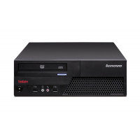 Calculator Lenovo ThinkCentre M58 SFF, Intel Core 2 Duo E7300 2.66GHz, 4GB DDR3, 250GB SATA, DVD-RW