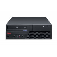 Calculator LENOVO ThinkCentre M58 SFF, Intel Core 2 Duo E8400 3.0GHz, 4GB DDR3, 320GB SATA, DVD-ROM