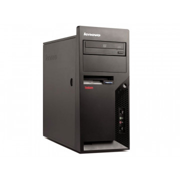 Calculator Lenovo Thinkcentre M58p Tower, Intel Core 2 Duo E8400 3.00Ghz, 4GB DDR3, 160GB SATA, DVD-ROM, Second Hand Calculatoare Second Hand