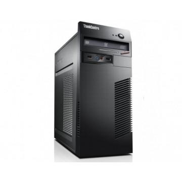 Calculator Lenovo ThinkCentre M71e Tower, Intel Celeron Dual Core G530 2.40GHz, 4Gb DDR3, 250Gb SATA, DVD-RW  Calculatoare Second Hand