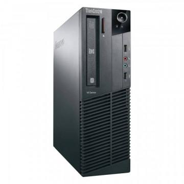 Calculator LENOVO ThinkCentre M81 Desktop, Intel Core i3-2100 3.10GHz, 4GB DDR3, 250GB SATA, DVD-ROM, Second Hand Calculatoare Second Hand