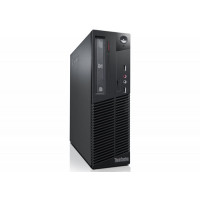 Calculator LENOVO ThinkCentre M82 SFF, Intel Pentium G640 2.80GHz, 4GB DDR3, 250GB SATA, DVD-ROM
