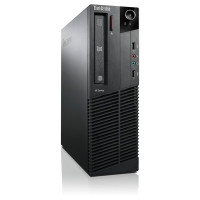 Calculator Lenovo Thinkcentre M83 SFF, Intel Core i3-4130 3.40GHz, 8GB DDR3, 120GB SSD, DVD-ROM