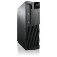Calculator Lenovo ThinkCentre M83 SFF, Intel Core i7-4770 3.40GHz, 8GB DDR3, 120GB SSD, DVD-ROM