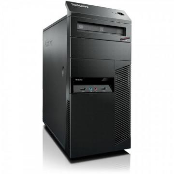 Calculator Lenovo Thinkcentre M92 Tower, Intel Core i5-3470 3.20GHz, 4GB DDR3, 250GB SATA, DVD-RW, Second Hand Calculatoare Second Hand