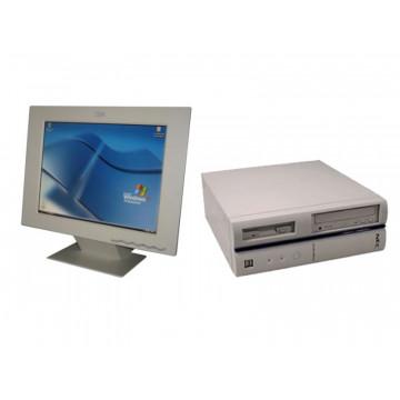 Calculator NEC F-VL4, Celeron D 2.53Ghz, 512Mb, 40Gb  + Monitor LCD IBM 15 inci
