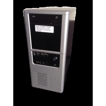 Calculator No Name Tower, AMD x2 5200+ 2.7Ghz, 2Gb DDR2, 80Gb SATA, DVD-RW Calculatoare Second Hand