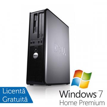 Calculator Refurbished Dell 360 Desktop, Pentium Dual Core E5300, 2.66Mhz, 2Gb, DDR2, 250GB, DVD-RW + Win 7 Premium, Garantie 36 Luni Calculatoare Refurbished