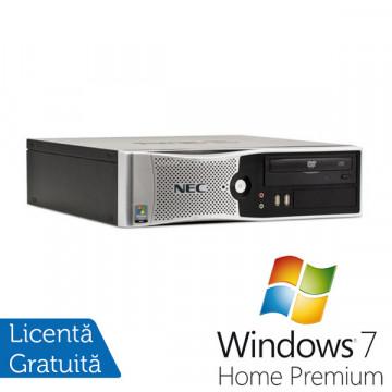 Calculator Refurbished NEC PowerMate VL280, Core 2 Duo E8300, 2.83Ghz, 4Gb, 250Gb DDR2, DVD-RW + Win 7 Premium Calculatoare Refurbished