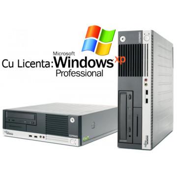 Calculator SH Fujitsu Esprimo E5905, Pentium D 820, 2.8Ghz, 1Gb, 80Gb, DVD-ROM + Win Xp Pro Calculatoare Second Hand