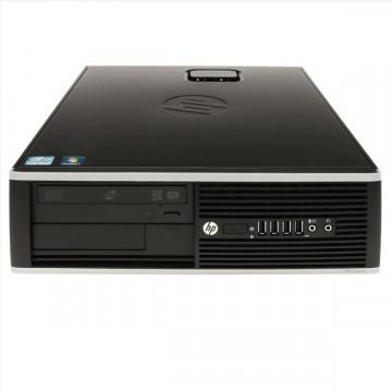 Calculator SH HP Compaq Elite 8000 SFF, Intel Core 2 Quad Q6600, 2.4Ghz, 4Gb DDR3, 320Gb, DVD-RW Calculatoare Second Hand