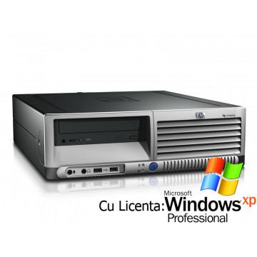 Calculator SH HP DC7600 Pentium 4, 3.4GHz, 1Gb DDR2, 80Gb Sata, DVD-ROM + Win XP Pro Calculatoare Second Hand