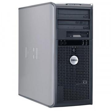 Calculator Tower Dell Optiplex 745, Core 2 Duo E6600, 2.4Ghz, 2Gb DDR2, 80Gb SATA, DVD-RW Calculatoare Second Hand