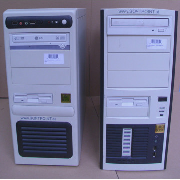 Calculator Tower Dual Core E2160, 1gb ddr2, 300gb Sata, DVD-RW, Slot PCi-e Calculatoare Second Hand