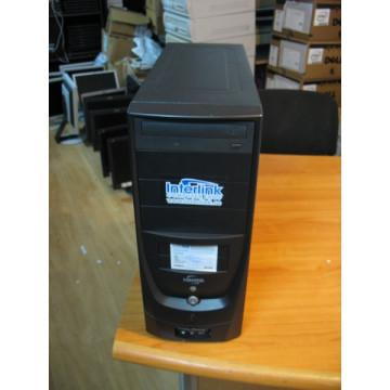 Calculator Tower INTERLINK, Pentium 4, 2.8Ghz, 1gb RAM, 160gb HDD, DVD-ROM Calculatoare Second Hand