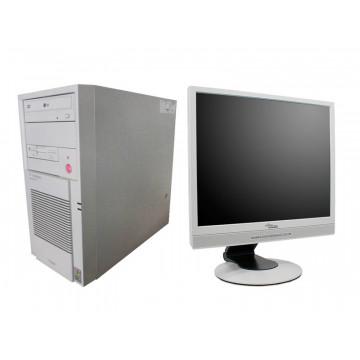 Calculator TSystems, Core 2 Duo E6300, 1.86Ghz, 2Gb DDR2, 160Gb, DVD-ROM + LCD 17 inci Lux