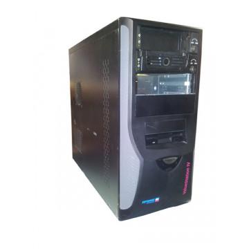 Carcasa ATX Bulk, Pyramid Computers ValueStation IV, 2 sloturi HDD, Floppy, 2 sloturi unitate optica