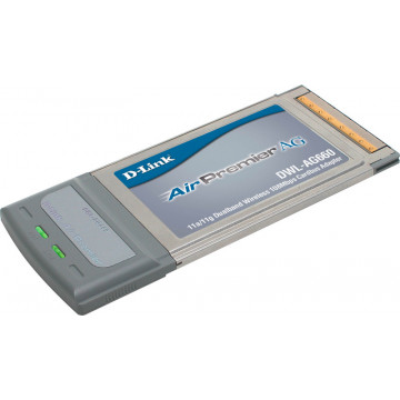 Card Wireless Laptop, D-Link AirPremier AG DWL-AG660, 802.11a/g Tri-Mode Dualband, Type II CardBus, Nou Componente Laptop