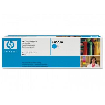 Cartus Laser Cyan HP C8551A incarcat 78%