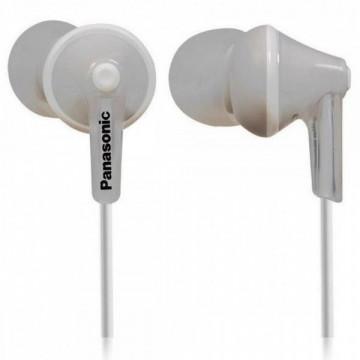 Casti Panasonic In-Ear RP-HJE125E-W, Alb