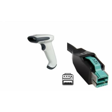 Cititor cod de bare Honeywell Hand Held 3800G Adaptus 3800G05E, 12v USB Host Powered Cable Echipamente POS