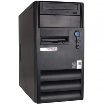 Compaq Evo D300 MiniTower, Intel Celeron 1.4Ghz, 512 MB, 40Gb, CD-ROM Calculatoare Second Hand