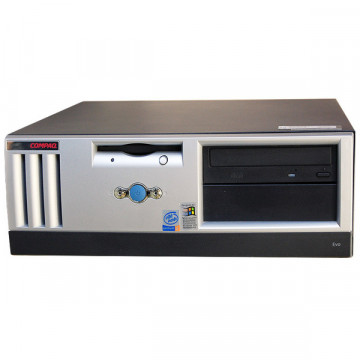Compaq Evo D500, D5D, Intel Pentium 4, 1.7ghz, 256mb Sdram, 40 Gb HDD, CD-ROM Calculatoare Second Hand