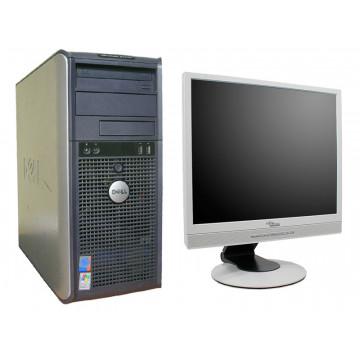 Computer Dell GX520, Pentium D820 Dual Core, 2.8Ghz, 1Gb, 80Gb + Monitor 17 inci