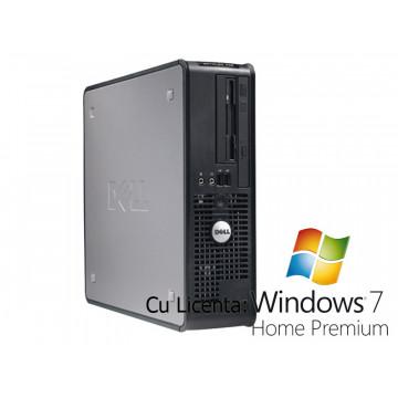 Computer Dell Optiplex 745, Pentium D Dual Core 3.0Ghz, 1Gb, 80Gb, Combo +Win 7 Home Calculatoare Second Hand