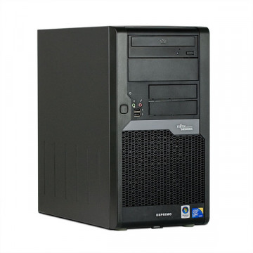 Computer Fujitsu Esprimo P5730, Dual Core E2200, 2.2Ghz, 2Gb, 160Gb, DVD-RW Calculatoare Second Hand