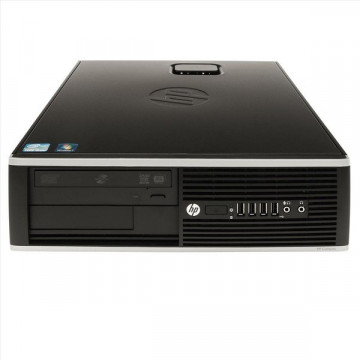 Computer HP Compaq Elite 8000 SFF, Pentium E5400 Dual Core, 2.7Ghz, 2Gb DDR3, 250Gb, DVD-RW Calculatoare Second Hand
