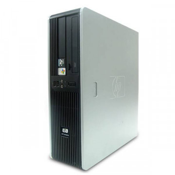 Computer HP DC5750, AMD Athlon x2 4000+, 2.1Ghz, 2Gb DDR2, 80Gb SATA, DVD-ROM, SFF Calculatoare Second Hand