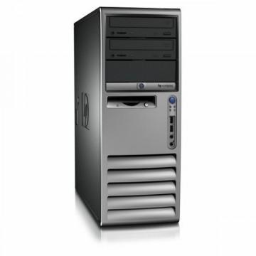 Computer Hp DC7100, Pentium 4 2.8Ghz, 1Gb, 80Gb SATA, DVD-ROM Calculatoare Second Hand