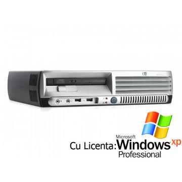Computer HP DC7600 USFF Pentium 4, 3.0GHz, 1Gb DDR2, 80Gb Sata, DVD-ROM + Win Xp Pro Calculatoare Second Hand
