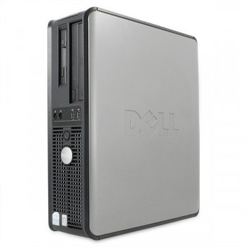 Computer ieftin Dell Optiplex 745 Desktop, Pentium D 3.4Ghz, 1Gb DDR2, 40Gb, CD-ROM Calculatoare Second Hand
