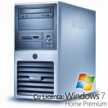 Computer Maxdata, Core 2 Duo E6420, 2.13Ghz, 2Gb DDR2, 160Gb, DVD-RW + Win 7 Home Calculatoare Second Hand