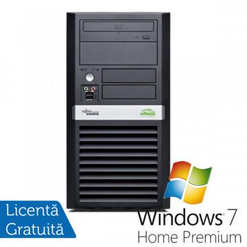 Computer Refurbished Fujitsu Siemens P5625, Athlon Dual Core 64 x2 5600B, 2.9Ghz, 4Gb DDR2, 160Gb, DVD-RW + Win 7 Premium Calculatoare Refurbished
