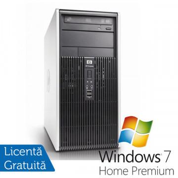 Computer Refurbished HP DC7900, Intel Core 2 Quad Q8200, 2.33Ghz, 4Gb DDR2, 250Gb HDD, DVD-RW + Win 7 Home Calculatoare Refurbished