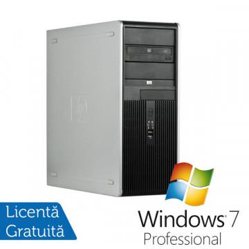 Computere HP DC7900, Intel Core 2 Quad Q8200, 2.33Ghz, 2Gb DDR2, 250Gb HDD, DVD-RW + Win 7 Pro