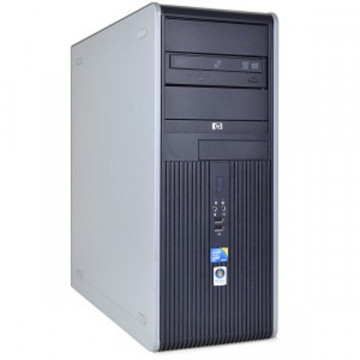 Computere HP DC7900, Intel Core 2 Quad Q8200, 2.33Ghz, 4Gb DDR2, 250Gb HDD, DVD-RW Calculatoare Second Hand