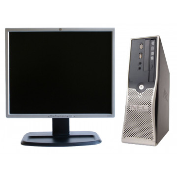 Computere NEC VL370, AMD Athlon x2 Dual Core, 2.3Ghz, 1Gb, 80Gb + Monitor 19 inci grad A lux