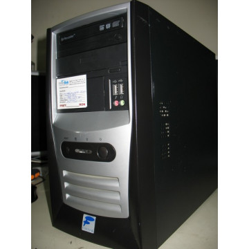 Core 2 Duo 1860Mhz / 1024MB / 80GB / DVD-RW / Tower negru Calculatoare Second Hand