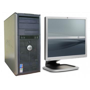 Dell GX520, Pentium D820 Dual Core, 2.8Ghz, 2Gb, 80Gb + Monitor LCD 19 inci