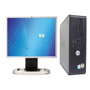 DELL GX520 SFF, Celeron D, 3.06Ghz, 1024Mb, 40Gb, Combo + LCD 17 inci